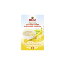 Bio Banános gyümölcspüré kása | Holle