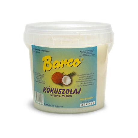 Kókuszzsír sütéshez - Barco