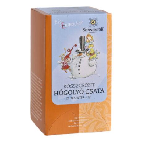 Hógolyócsata tea - bio - filteres | Sonnentor