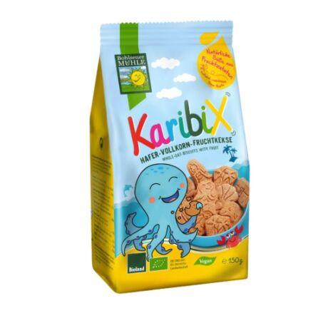 BIO Gyümölcsös Tönkölybúza keksz Gyerekeknek - Karibix | Bohlsener Mühle