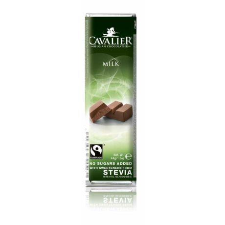 Belga Cukormentes Tejcsokoládé szelet steviával | Cavalier