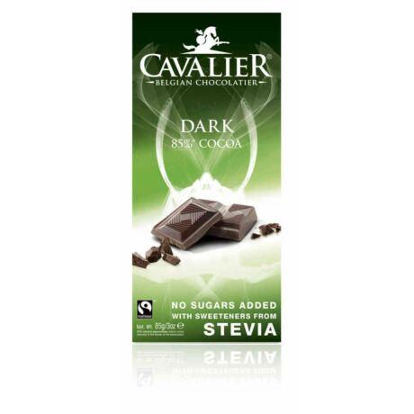 Belga Cukormentes étcsokoládé steviával - táblás