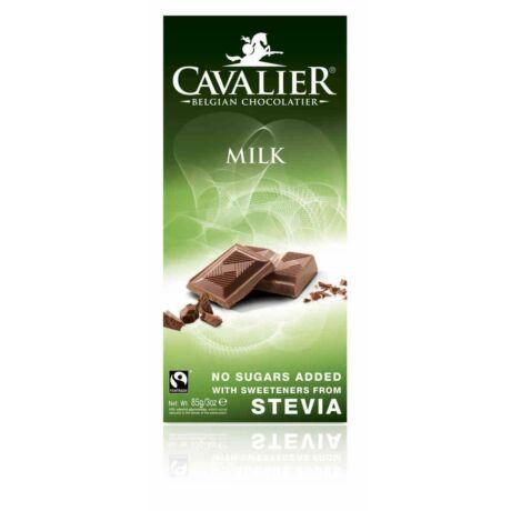 Belga cukormentes tejcsokoládé steviával