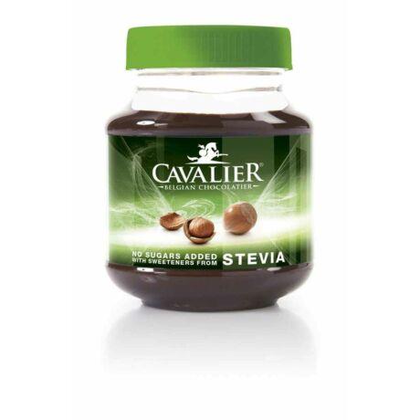 Belga csokoládés mogyorókrém steviával