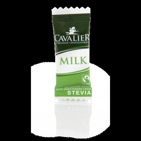 Belga cukormentes tejcsokoládé falat steviával 5g