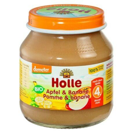 Bio bébiétel alma-banán Holle