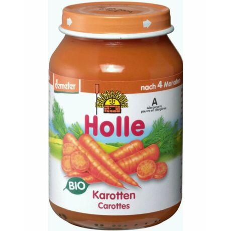 Bio bébiétel sárgarépa Holle