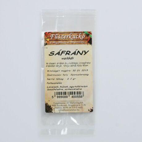 Sáfrány - a világ legdrágább fűszere