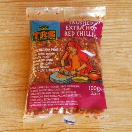 Tört chili paprika