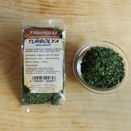 Turbolya - morzsolt