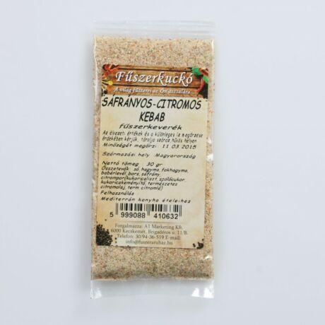 Sáfrányos-citromos kebab fűszerkeverék