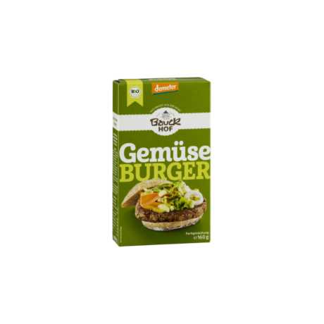 Bio Zöldség-burger keverék | Bauckhof