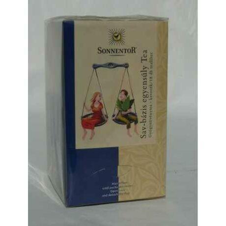 Sav-Bázis egyensúly tea