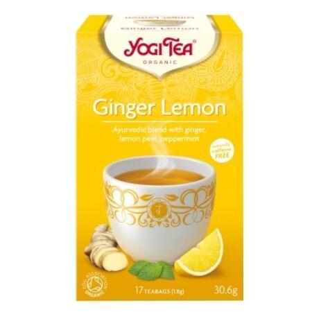 Citromos gyömbér tea