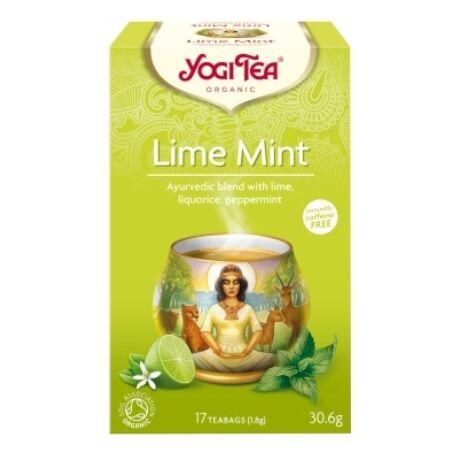 Lime-menta tea