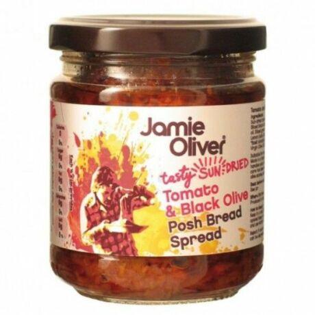 Napon szárított paradicsom és fekete olíva bruschetta krém Jamie Oliver