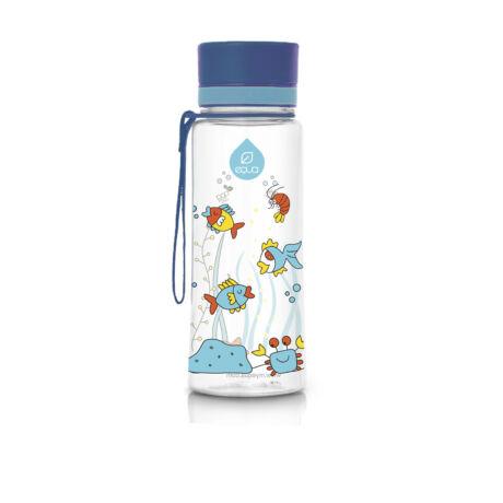 BPA-mentes műanyag kulacs - Kék akvárium