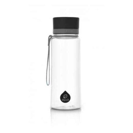 BPA-mentes műanyag kulacs -  Fekete