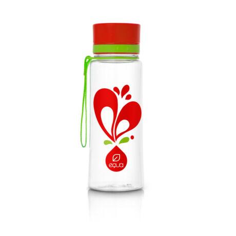 BPA-mentes műanyag kulacs - Szíves