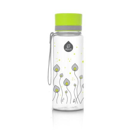 BPA-mentes műanyag kulacs Zöld leveles