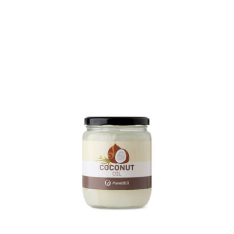 PlanetBIO hidegen sajtolt organikus szűz kókuszolaj - 100% bio