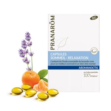 Aromanoctis Forte Alvássegítő, stresszoldó olajkapszula | PRANAROM