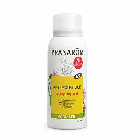 Bio Szúnyog- és rovarriasztó spray bőrre - Aromapic | PRANAROM