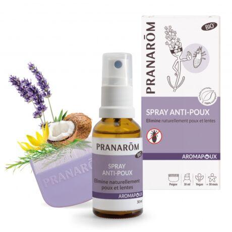 Aromapoux Tetű- és serkeirtó spray fésűvel | PRANAROM