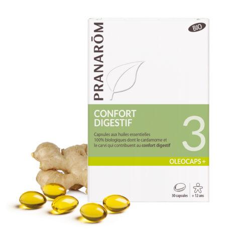 Oleocaps+ 3 Emésztést segítő kapszula BIO | PRANAROM