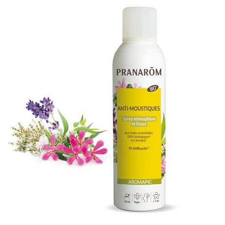 Bio Szúnyog És Rovarriasztó Spray Légtérbe & Ruhára Aromapic Pranarom