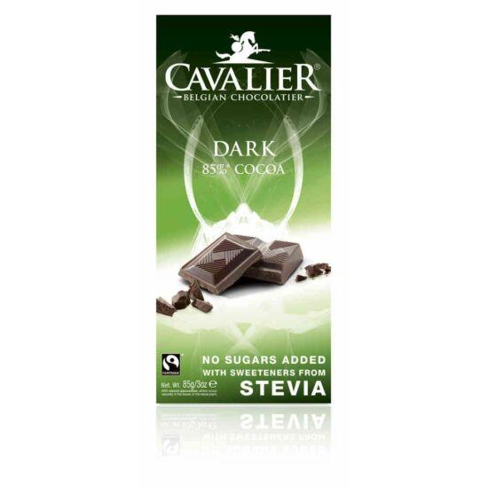 Belga cukormentes étcsokoládé steviával