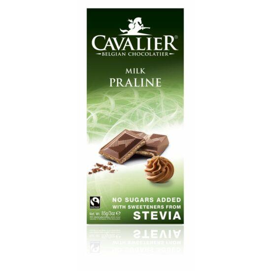 Belga cukormentes tejcsokoládé mogyorókrémes