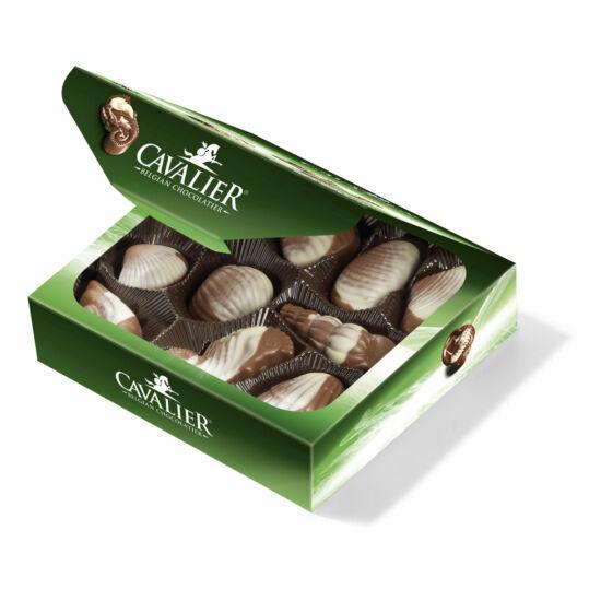 Cukormentes csokoládé praliné mogyorós töltelékkel, steviával