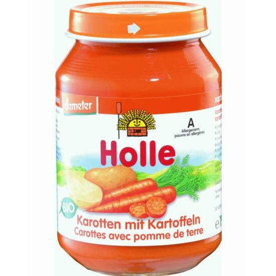 Bio bébiétel sárgarépa burgonyával Holle
