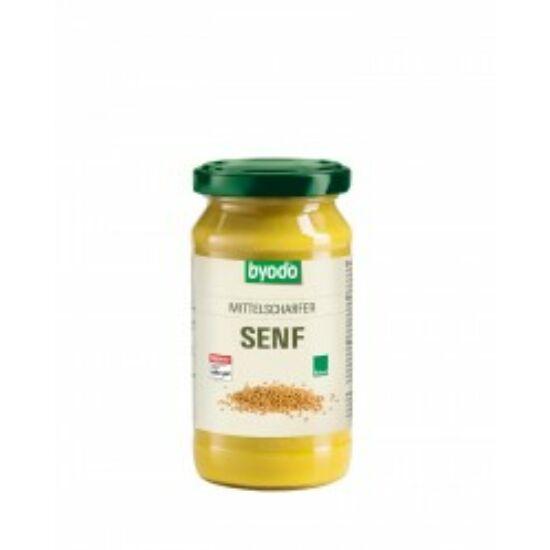 Bio enyhén csípős mustár