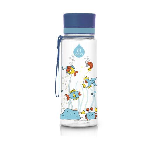 BPA mentes műanyag kulacs - Kék akvárium