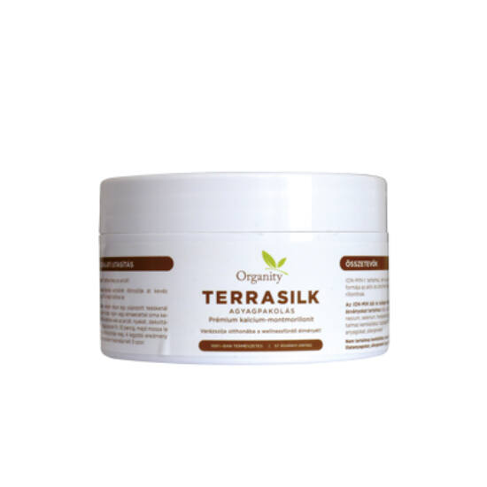 Organity TerraSilk - Agyagpakolás